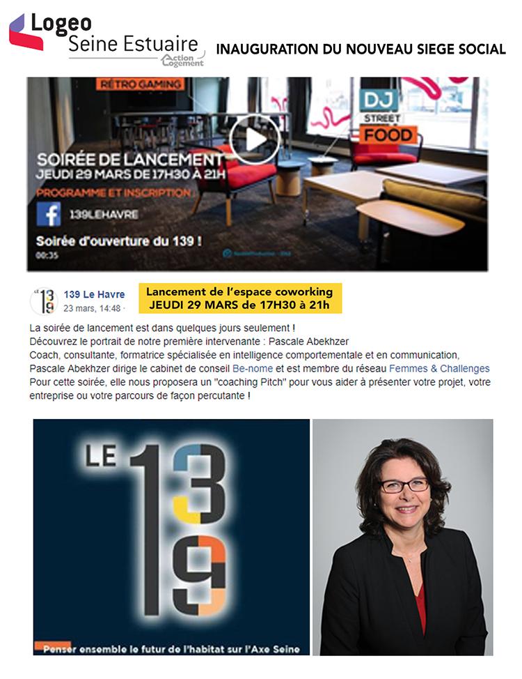 Logeo : Inauguration du nouveau siège social