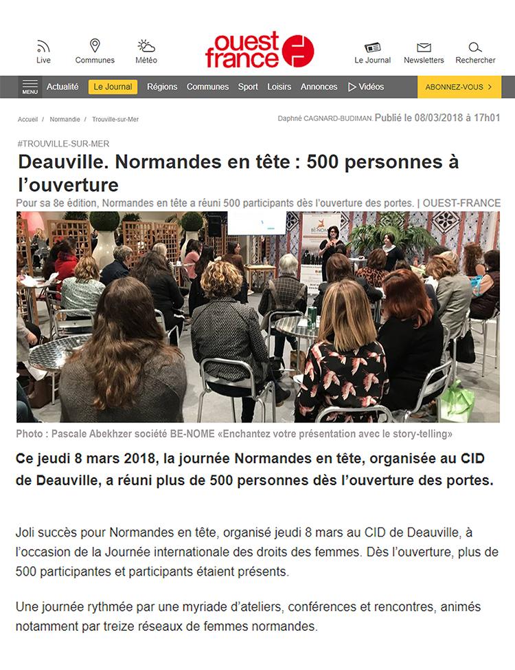 Deauville. Normandes en tête : 500 personnes à l'ouverture