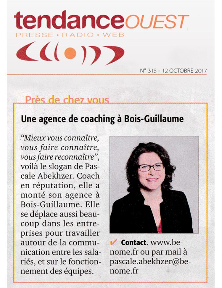 Une agence de coaching à Bois-Guillaume